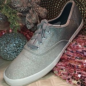 Sparkly Ombre & Glitter Keds